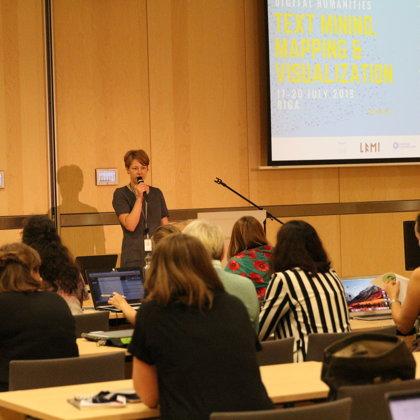 Opening speech by Anda Baklāne (National Library of Latvia) - the main coordinator of #BSS