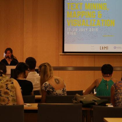 Opening speech by Sanita Reinsone (head of LFMI Digital), co-organizer of the BSSDH2018