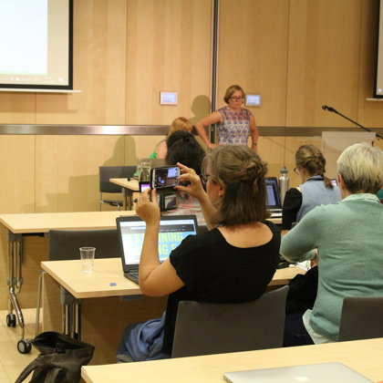 "Keynote: Liina Lindström, Kristel Uiboaed ""Digital Humanities and Small Languages"""