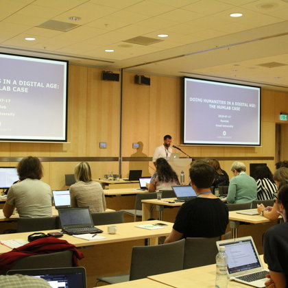 """Keynote: Fredrik Norén """"Exploring Digital Tools and the Papal Documents 2013–2016"""""""