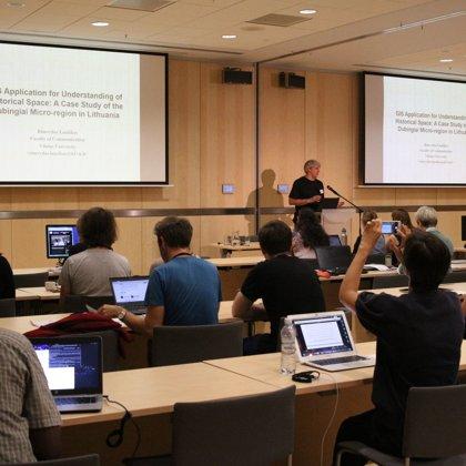 "Keynote: Rimvydas Laužikas ""GIS Application for Understanding of Historical Space"""