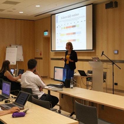 Workshop on data visualization basic by Nika Aleksejeva (School of Data)